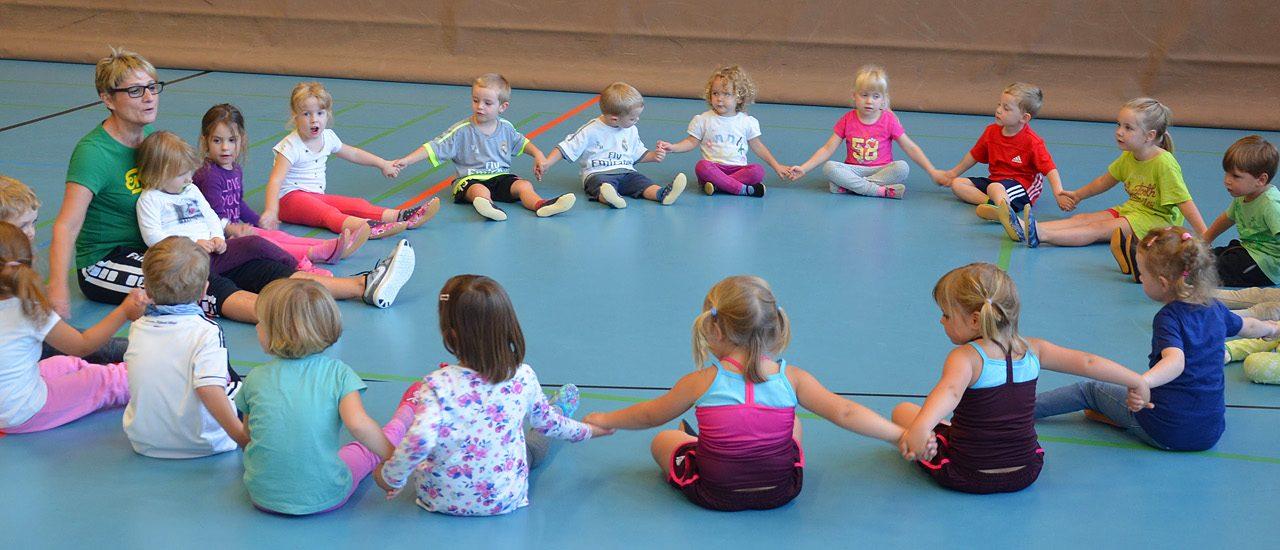 Kinderturnen startet wieder nach den Sommerferien!