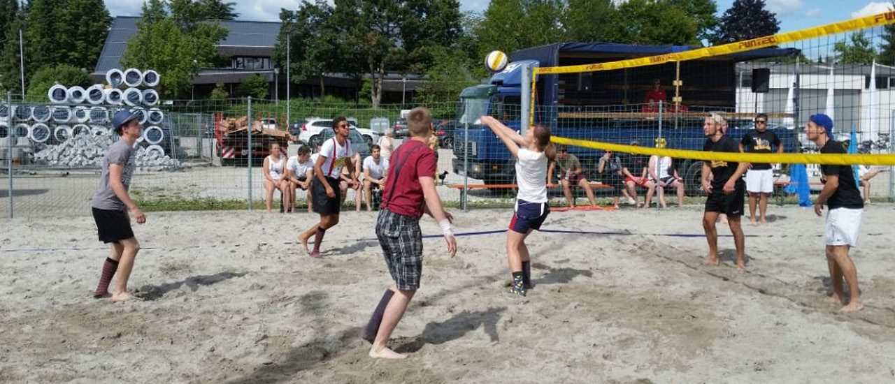 Volleyballbericht des Mannschaftsführers Sandrino Gänshirt