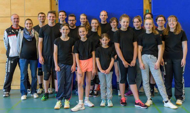Dritter Jugendtag der Abteilung Volleyball war wieder ein voller Erfolg