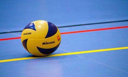Auch die Volleyballer starten wieder mit Ihrem Training