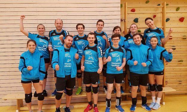 Volleyball-Mannschaft – Erfolgreicher Einstieg in die B-Liga