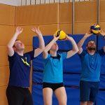 Volleyball – Das Training startet wieder…